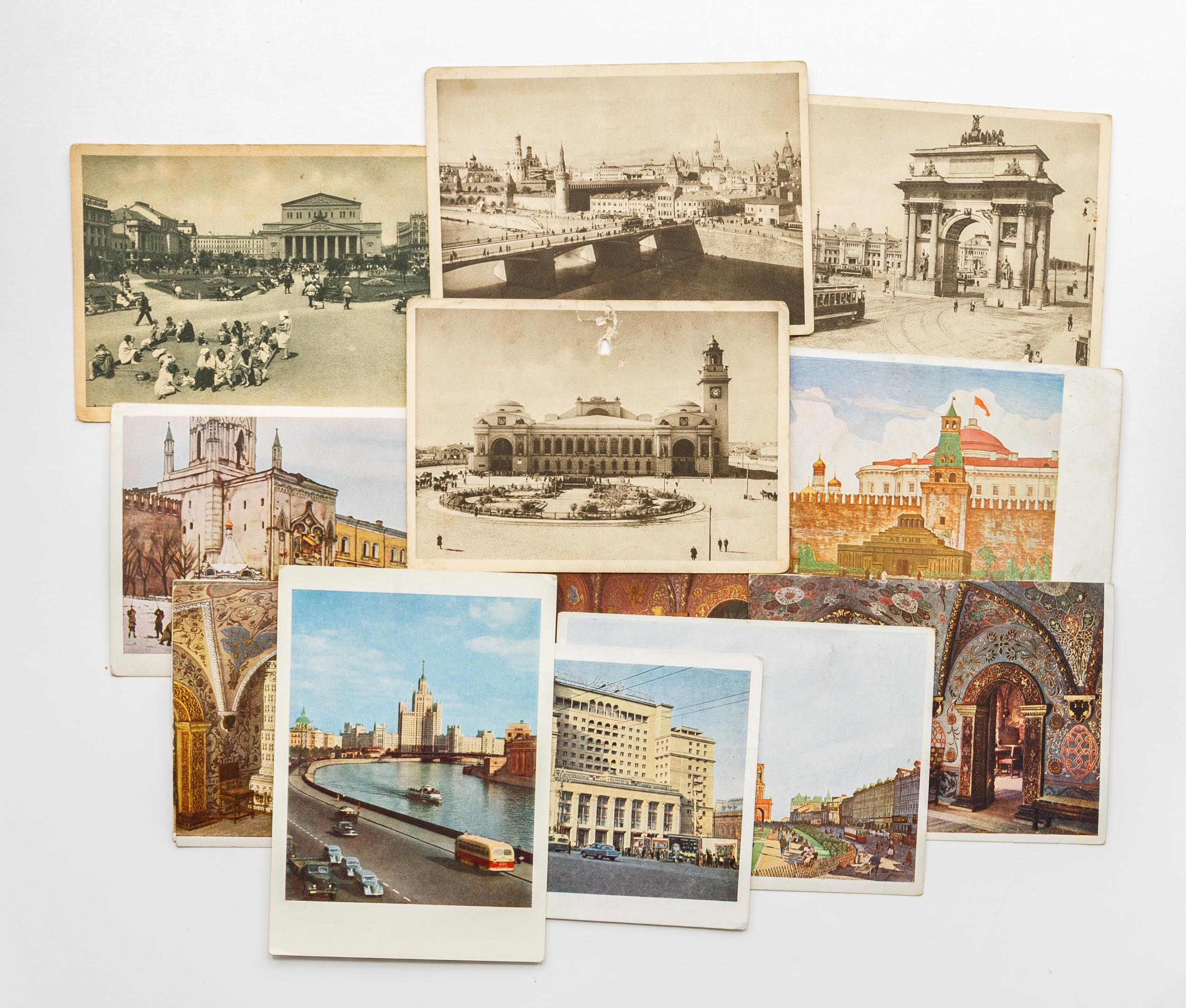 Днем, открытки с видами городов россии