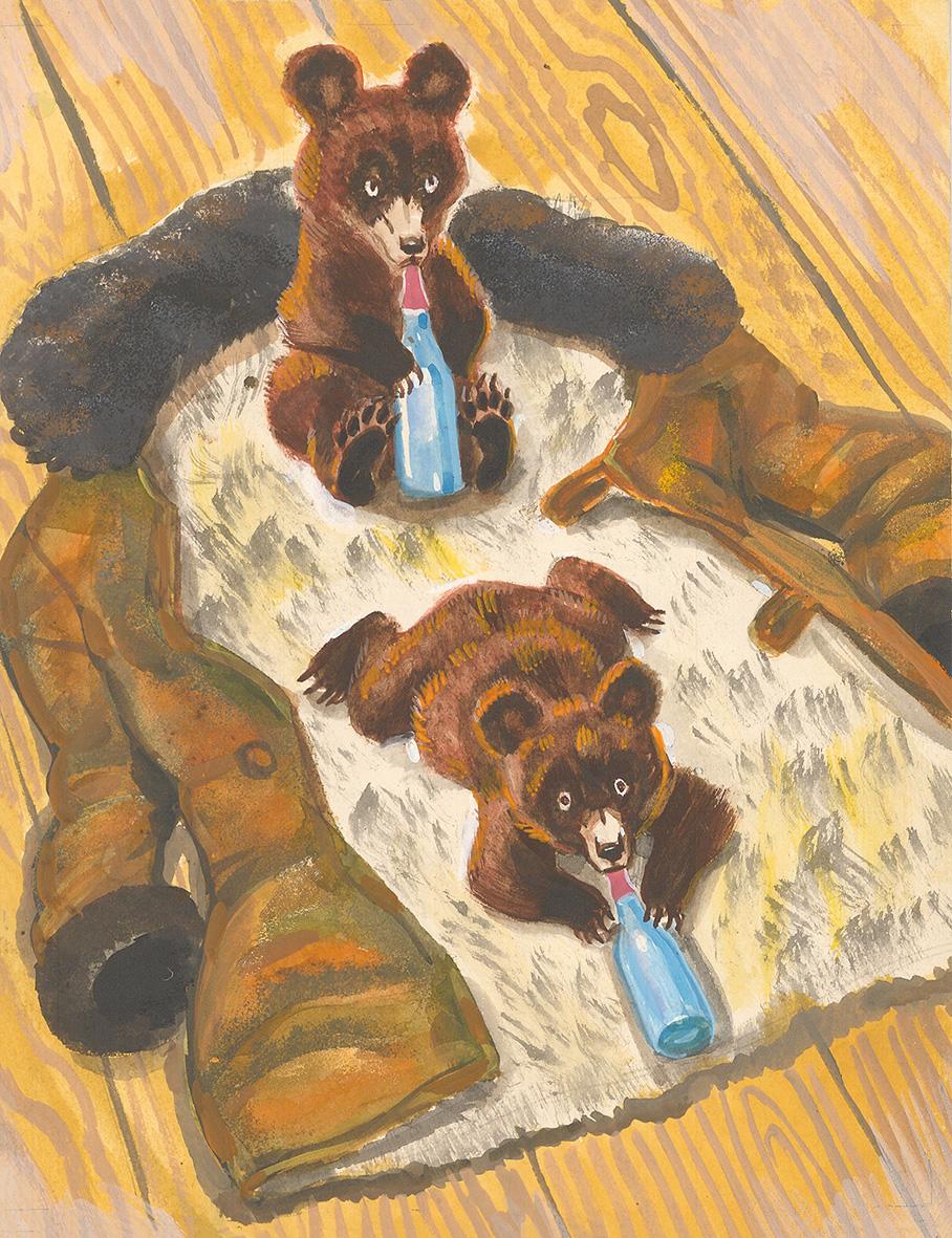как иллюстрации к рассказам чарушина медвежонок родилась первом браке