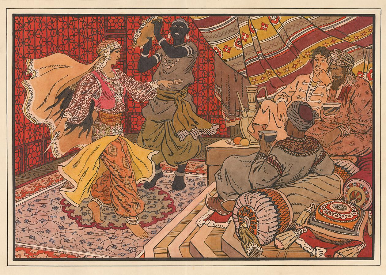 Картинки али-баба и сорок разбойников