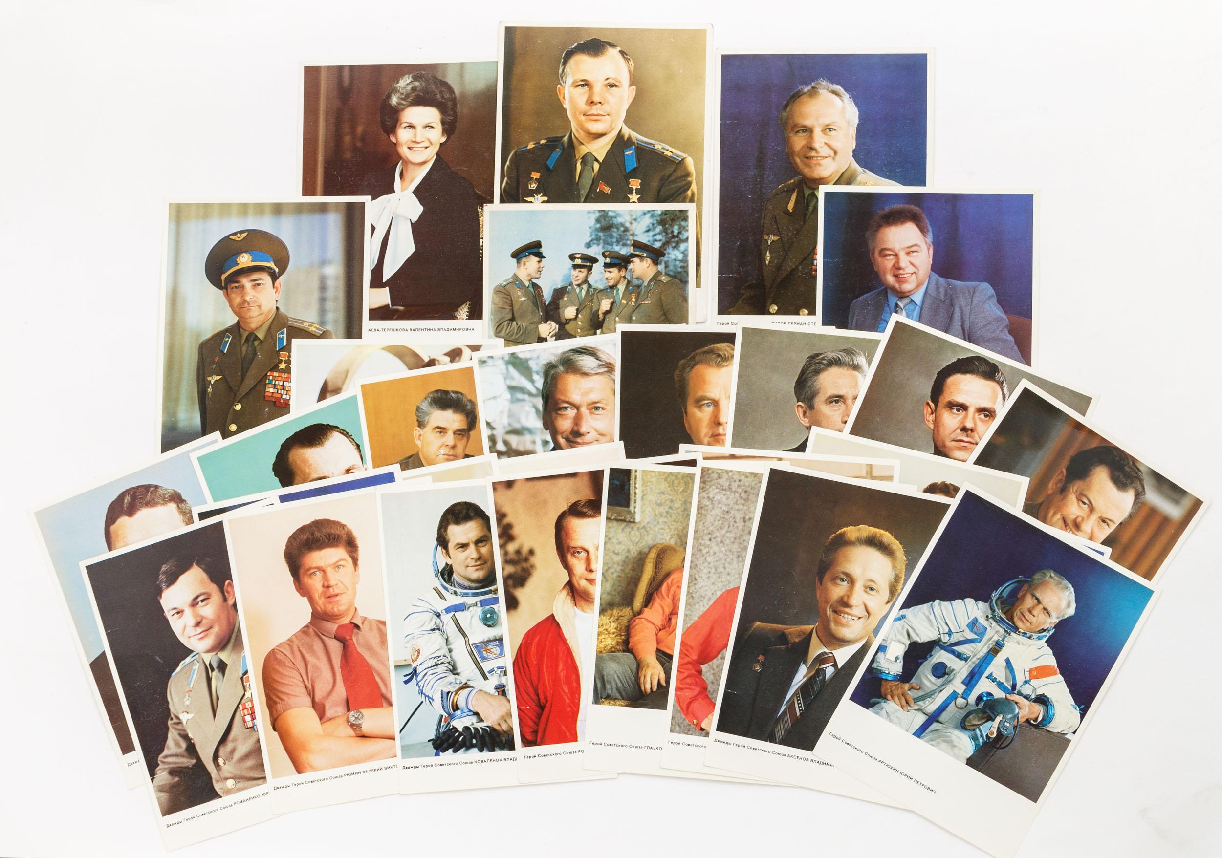 девочек набор открыток космонавты назарьеву