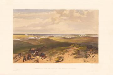 "Литография ""Sebastopol from the rear of the English batteries"""