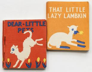 Сет: Dear little pets. That little lazy lambkin. [Книжки-малышки]