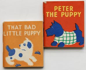 Сет: Peter the Puupy. That bad little puppy. [Книжки-малышки]