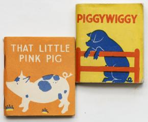Сет: Piggywiggy. That little pink pig. [Книжки-малышки]