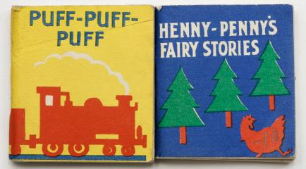 Сет: Henny-Penny's Fairy Stories. Puff-Puff-Puff. [Книжки-малышки]