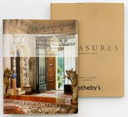 Sotheby's: Treasures. Princely taste/  Christie's: A taste for luxury.